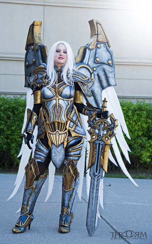 Uriel de Darksiders - Mundo Cosplayer