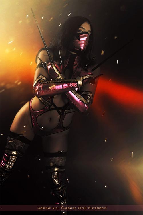 Mileena de Mortal Kombat - Mundo Cosplayer