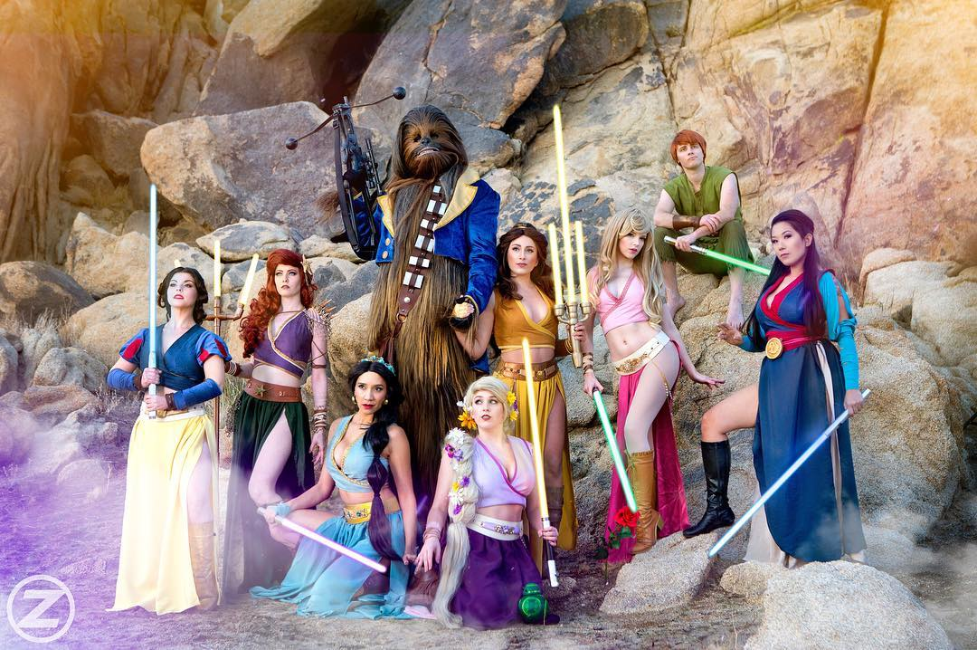 princesas-disney-star-wars (1)