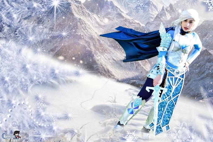 guerreira-elsa-frozen-cosplay