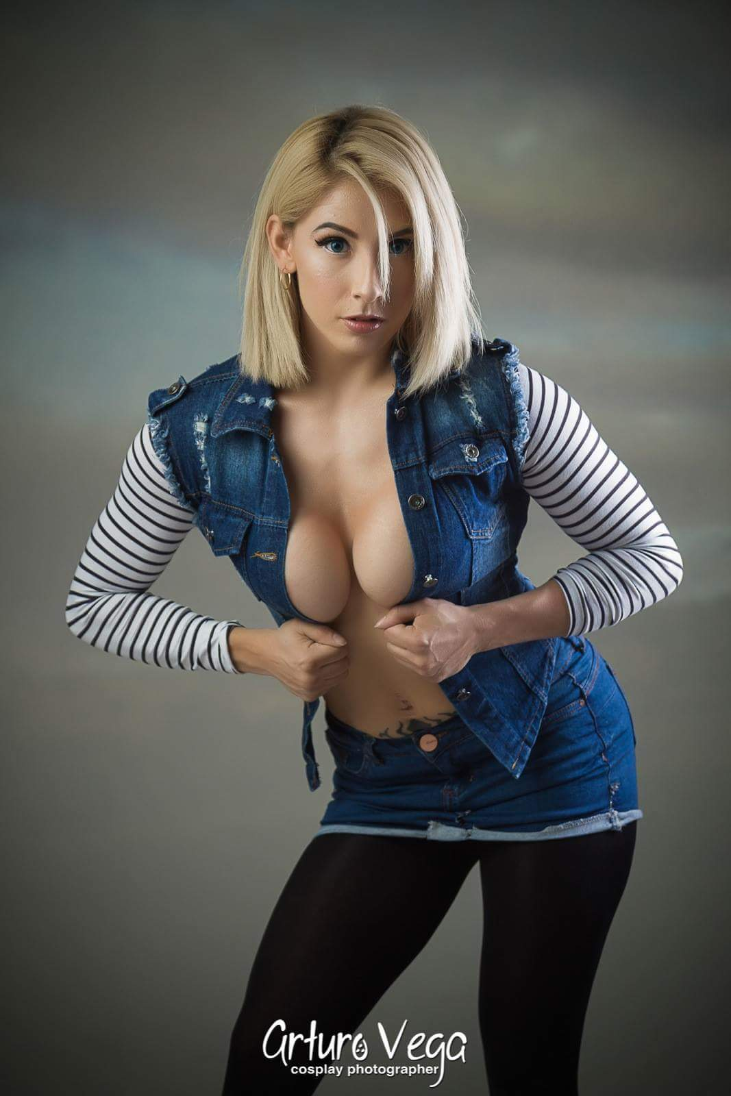 Android 18 cosplay porn