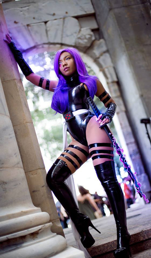 Cosplay de Psylocke - Mundo Cosplayer