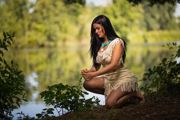 Cosplay de Pocahontas - Mundo Cosplayer